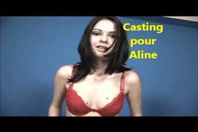 Casting pour Aline view on tnaflix.com tube online.
